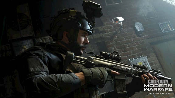 Call of Duty Modern Warfare тест GPU/CPU