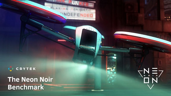 Neon Noir Ray Tracing Benchmark тест GPU/CPU