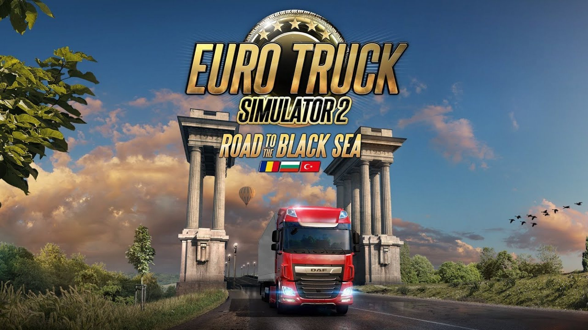 Дата выхода DLC Road to the Black Sea для Euro Truck Simulator 2