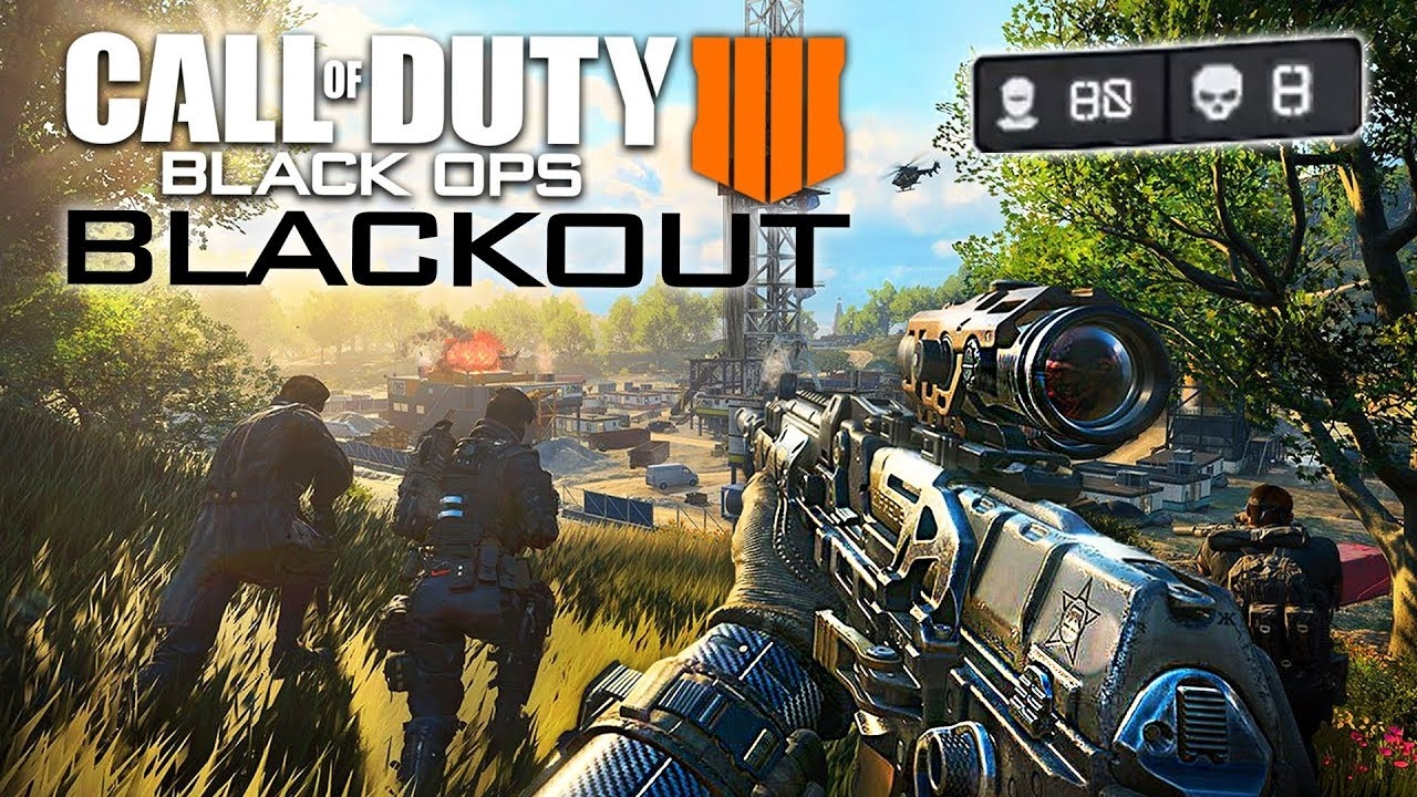 Call of Duty Black Ops 4 BLACKOUT Battle Royale Multiplayer Gameplay COD BO4 Blackout BETA