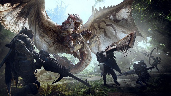 Monster Hunter: World тест GPU/CPU