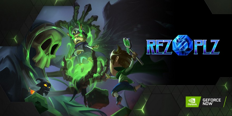 REZ PLZ on GeForce NOW