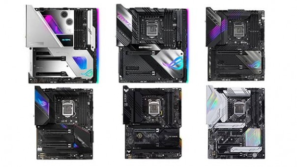 ASUS Z590 Motherboards