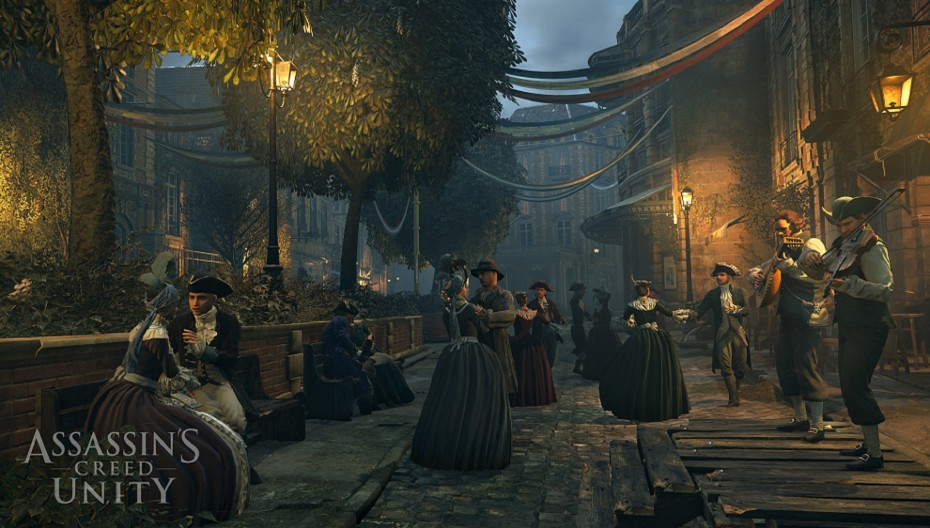 Assassins Creed Unity town 002