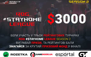 Republic of Gamers объявляет о начале второго сезона онлайн-турнира ROG...
