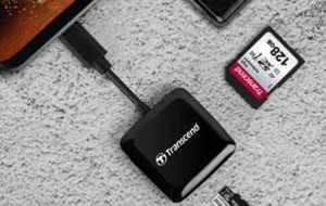 Transcend представляет компактный кард-ридер RDC3, оснащенный разъемом USB Type-C...