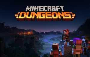 Демонстрация игрового процесса Minecraft: Dungeons...