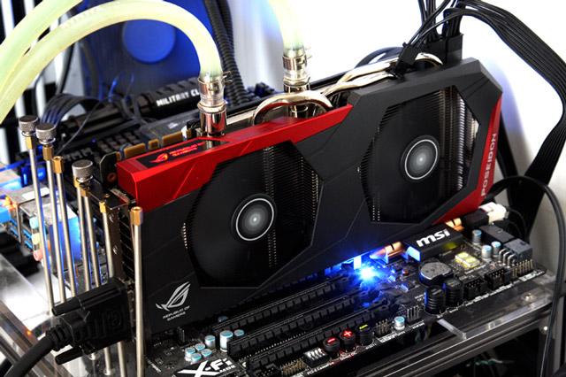 Первый обзор ASUS Poseidon GeForce GTX 980 ROG