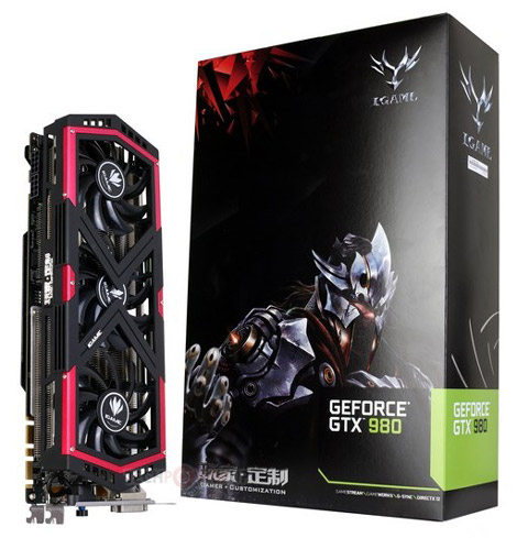 GTX 980 iGame от Colorful