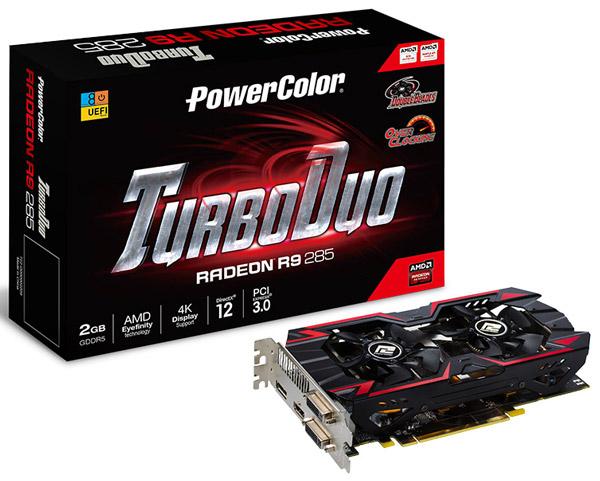 PowerColor представила TurboDuo R9 285 OC