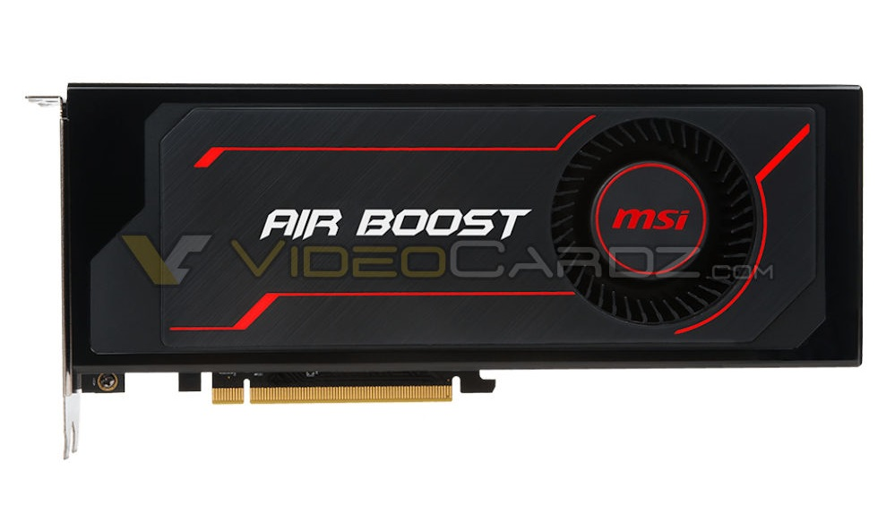 MSI Radeon RX Vega 64 AirBoost front