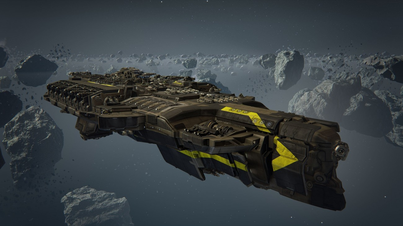 Dreadnought Customization Yellow Stripe