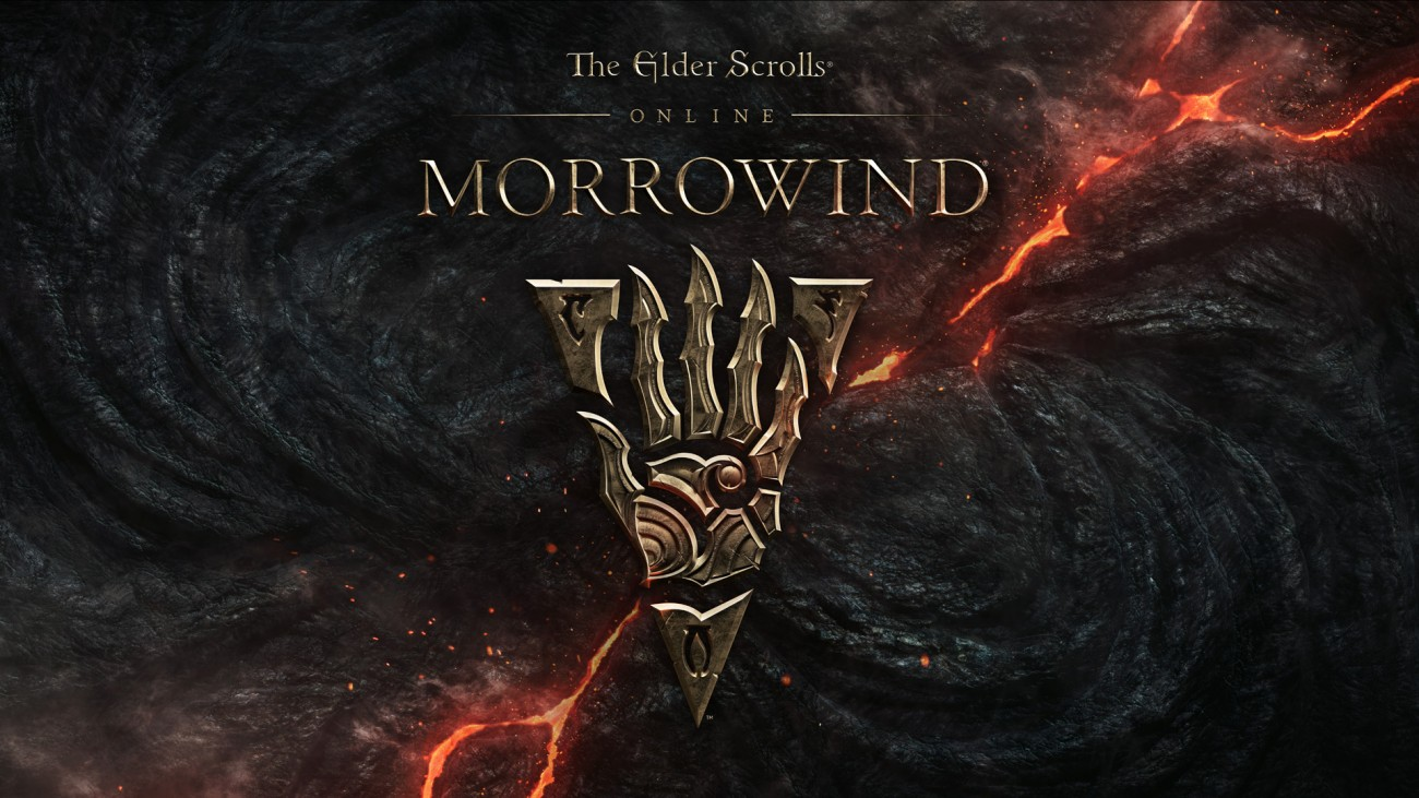 ESOMorrowind logo on lava 1485874739