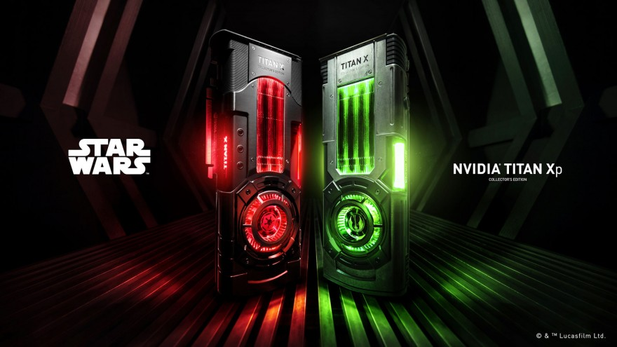nvidia geforce titan xp star wars collectors edition key visual
