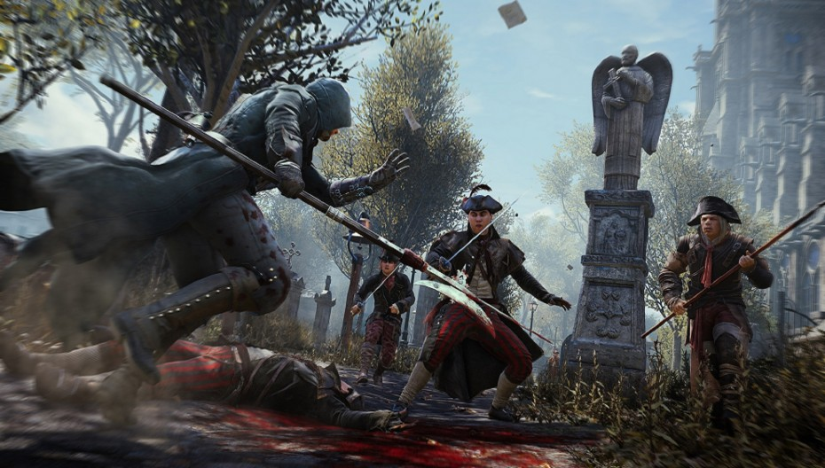 Assassins Creed Unity fight 002